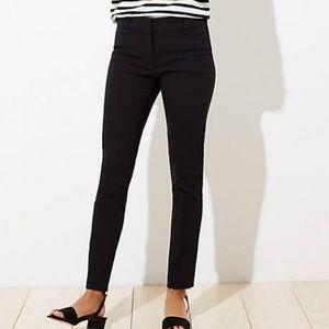 LOFT Marisa Skinny patterned pants